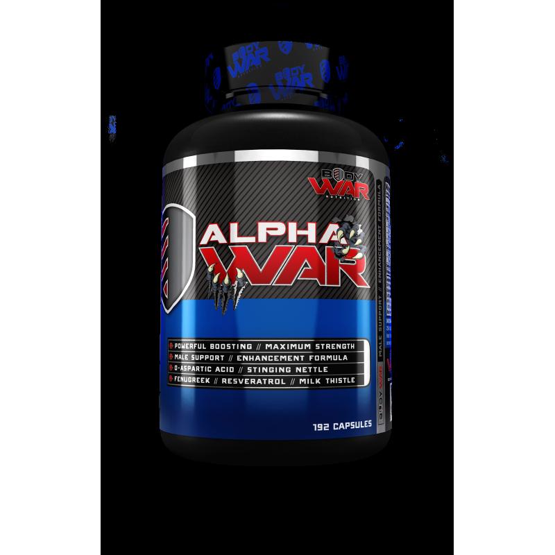 Buy Alpha War Testosterone Booster by BodyWar Nutrition Online Best Price #1 in Australia