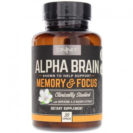 Alpha Brain by ONNIT