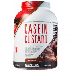 Gen Tec Casein Custard Chocolate 1.8Kg