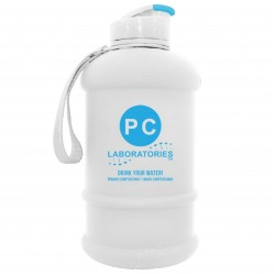 white Bottle 1.3 Litres by PC Laboratories BPA Free