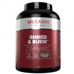 Shred and Burn Chocolate Milkshake 2kg by Musashi