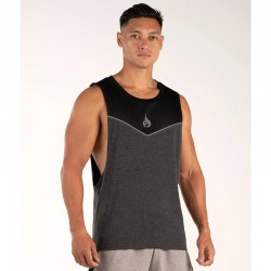 BSX Baller Tank by RydeWear Black and Grey