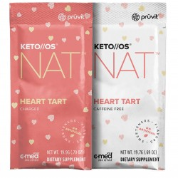 Keto OS NAT Heart Tart 1 Box of 20 serves by Pruvit