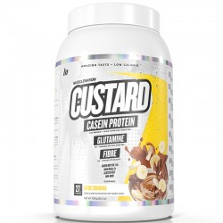 Custard Casein Protein Choc Banana 25 serving by Muscle Nation