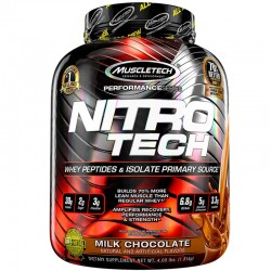Nitro Tech Protein by Muscletech Milk Chocolate
