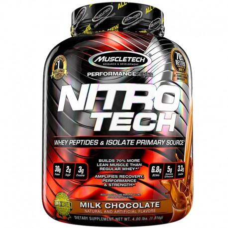 Nitro Tech Protein by Muscletech Milk Chocolate