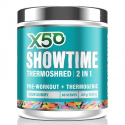 Showtime Thermoshred by Green Tea X50