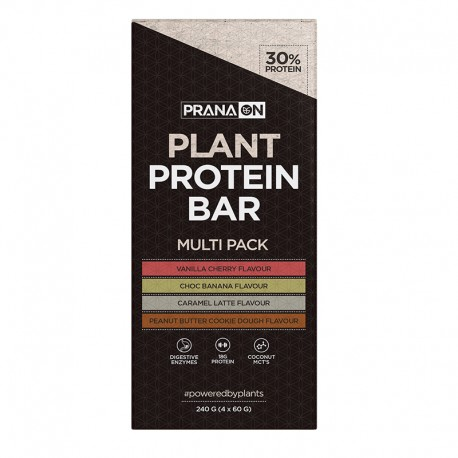 Plant Protein Bar Multi Pack by Prana On